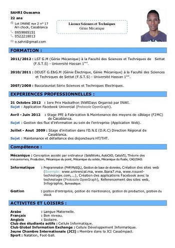 comment faire un cv quand on a 17 ans exemple de cv a 17 ans comment faire un cv quand on a 17 ans