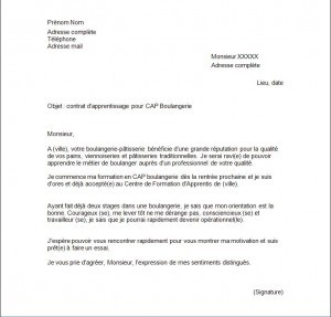exemple de cv et lettre de motivation