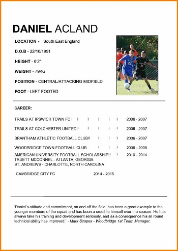 cv de footballeur exemple exemple de cv footballeur cv de footballeur exemple
