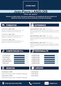 exemple de cv original word gratuit