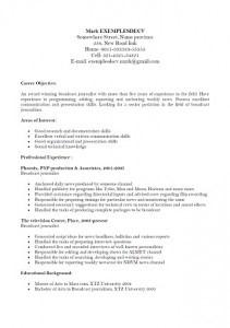 exemple de cv quebecois pdf