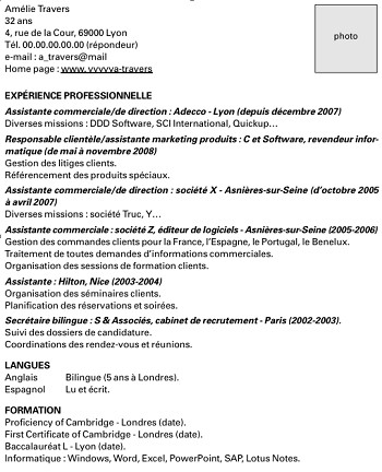 exemple de cv simple trackid=sp-006