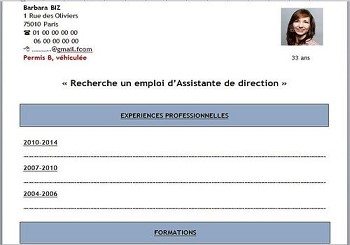 exemple de cv trackid=sp-006