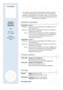 modele de cv 1 page