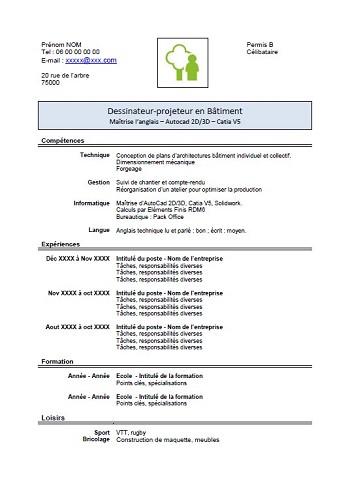 modele de cv 2013 pdf