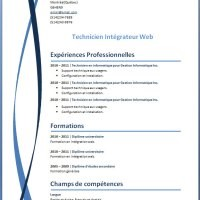 modele de cv a telecharger open office