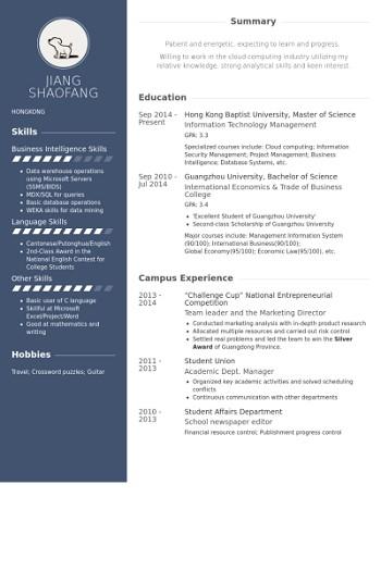 modele de cv entrepreneur