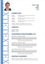 modele de cv francais