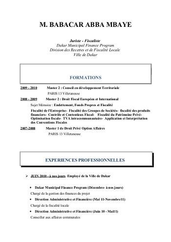 modele de cv juriste contentieux