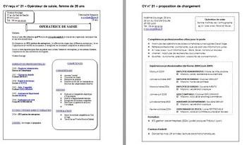 Modele De Cv Reconversion