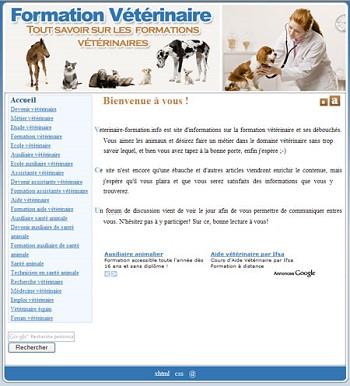 modele de cv veterinaire