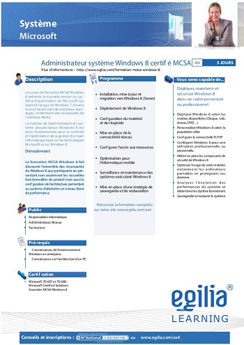 modele de cv windows 8