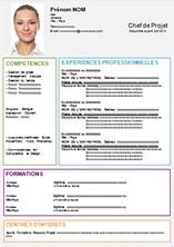 comment faire un cv exemple pdf